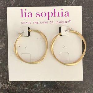 Lia Sophia hoops